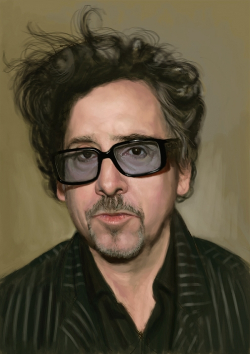 Image result for tim burton portrait